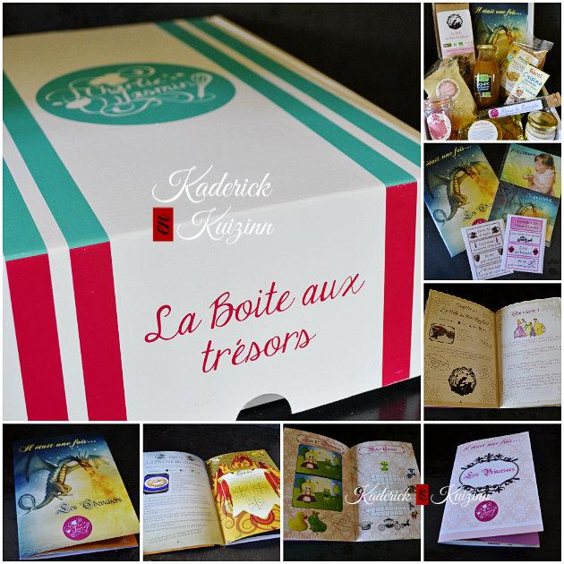 Composition de la box Charlie Jasmin avec produits et livres d'enfants - partenariat