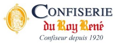 Logo confiseire Roy René