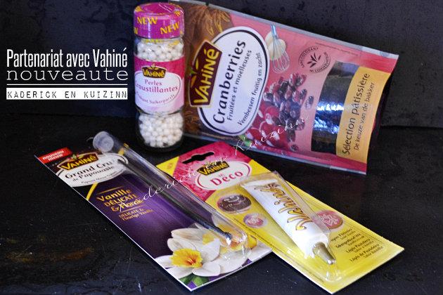 Recette de cake - partenariat produits Vahiné avec le blog de cuisine Kaderick en Kuizinn