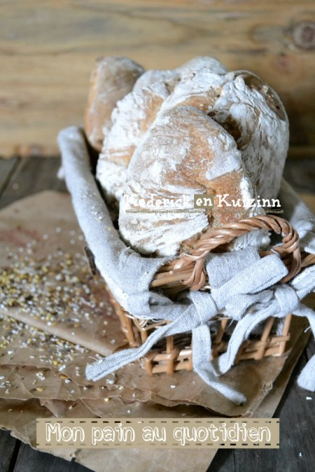 Recette pain - pains express sans pétrissage aux céréales