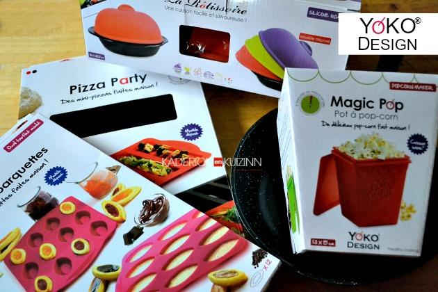 Partenariat Yoko Design - Produits silicone cuisine inventive on
