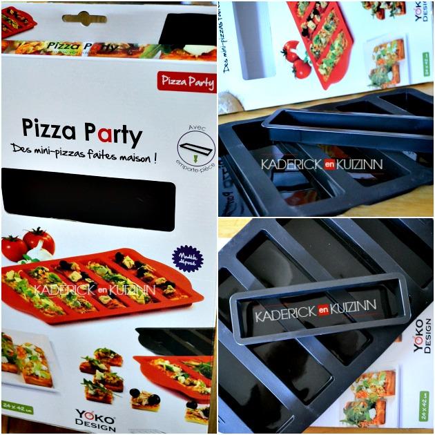 Partenariat Yoko Design - Produits silicone pour une pizza party