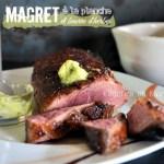 Plancha canard - Magret de canard grillé à la plancha beurre d'herbes