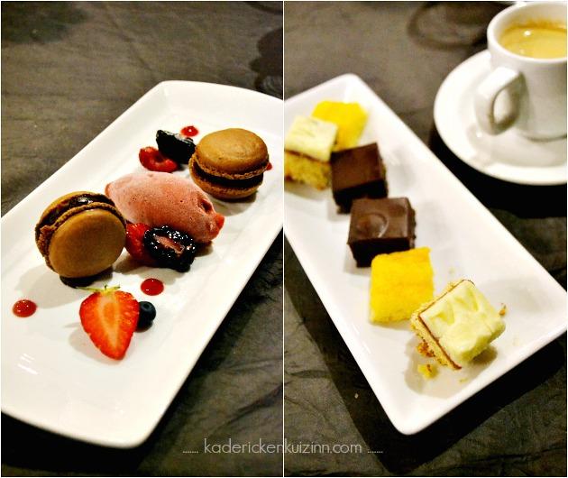 Partenariat Logis de France avec un diner au Mas de Luzières et le dessert