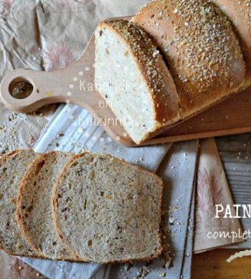 Pain complet - Recette saine et bio pain de mie complet aux 5 céréales