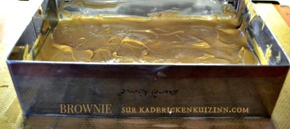 Brownie chocolat lait pour la base gâteau intense tout chocolat