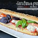 Sandwich panini - Pain de mie au jambon chorizo mozzarella