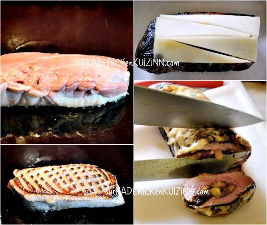 Recette magret plancha de magret farci pruneaux abricots - Cuisson magret de canard plancha ...