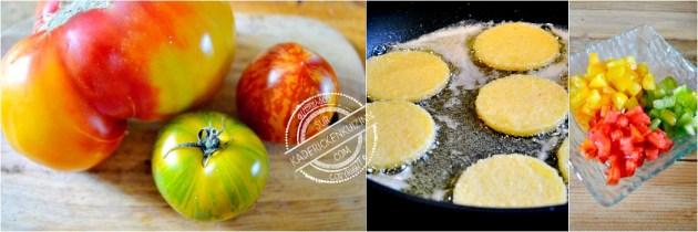 Toast canard - Aiguillette à la plancha trio de tomate bio et polenta