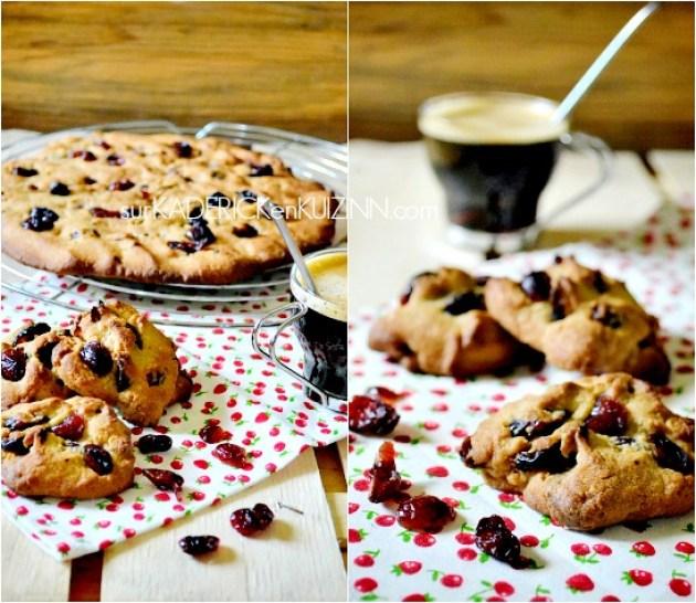 Cookies geant - Recette saine cookies cranberries et son d'avoine