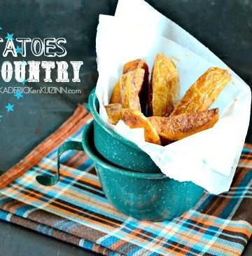 Potatoes country - Comment cuire des potatoes fait maison