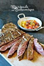 Paleron boeuf - Paleron mariné balsamique et grillé à la plancha Cuisine plancha