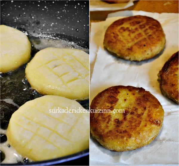 Recette galettes - Palets de pomme de terre et dès d'Ossau Iraty