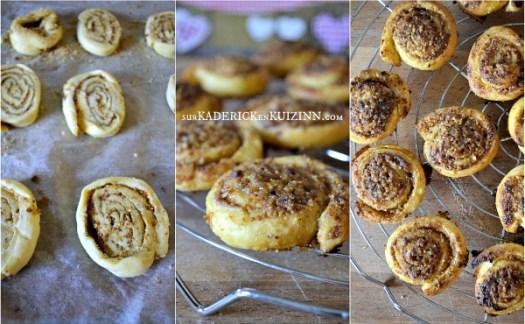 Recette spirale - Feuilleté noisette vanille et sucre rapadura de Jamie