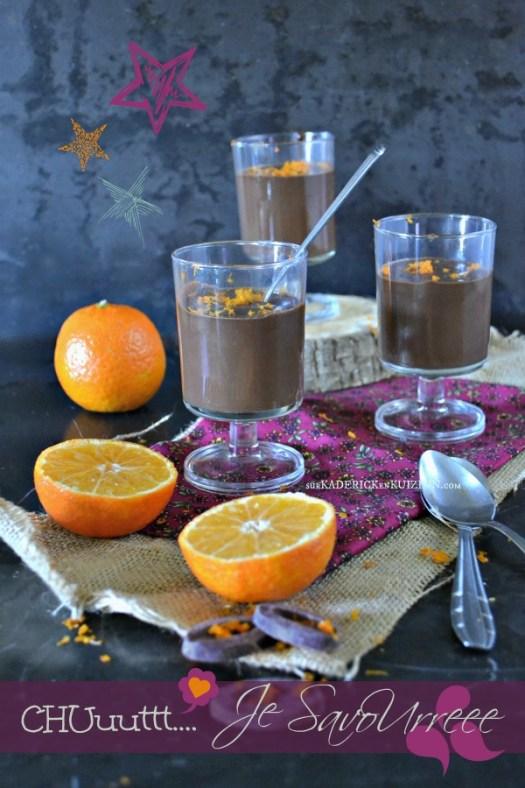 Ganache chocolat - Recette ganache chocolat noir vanille et clémentine
