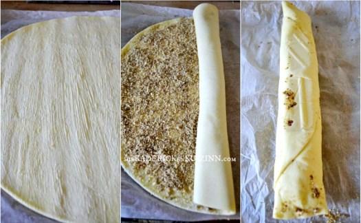 Recette spirale - Feuilleté noisette tonka et sucre rapadura de Jamie