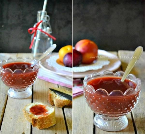 Confiture prunes - Recette de confiture aux prunes abricots vanille bio