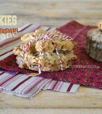 Recette cookies - Cookies amandes et chocolat Toblerone blanc