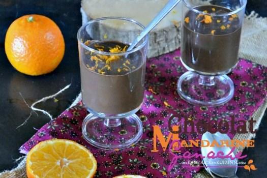 Ganache chocolat - Recette ganache chocolat noir mandarine