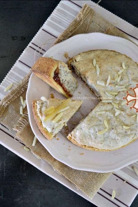 Gateau toulousain - Le Fenetra à l'abricot, citron confit et poudre d'amande