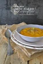 Recette veloute - Velouté bio de potimarron carotte cumin et gomasio Cuisine legume