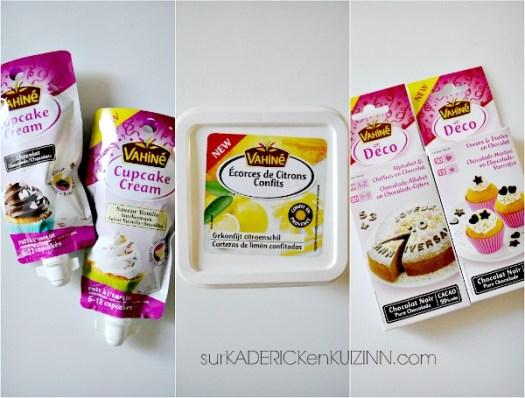 Vahine - Produits de pâtisserie avec les nouveautés 2014 sur Kaderick