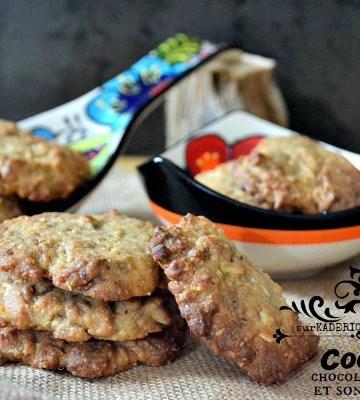 Cookies amandes - Cookies chocolat caramel et son d'avoine