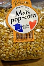 Maïs pop corn a utiliser pour faire pop corn chorizo