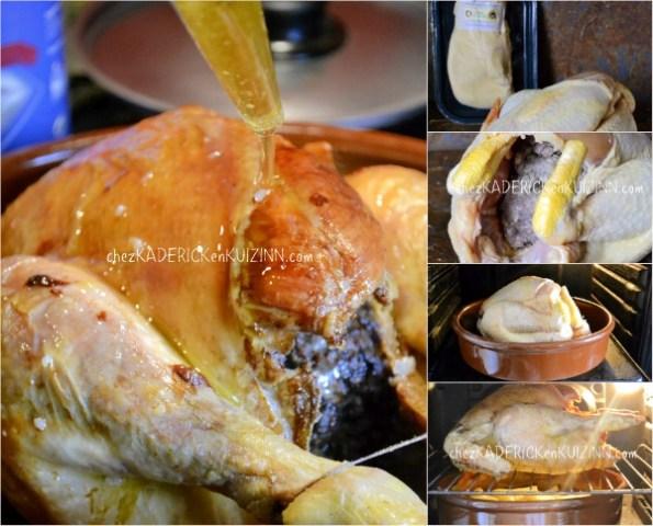 Chapon farci - Recette chapon de noël farci au foie gras de Frais d'Ici - Kaderick en Kuizinn©