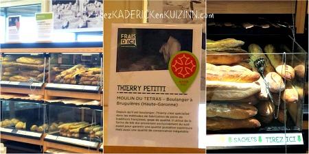 Mangez frais Achetez local, c'est Frais d'ici rayon pains et viennoiseries - Kaderick en Kuizinn