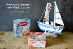 Chausson feuillete - Chausson au thon mascarpone et citron pour saupiquet