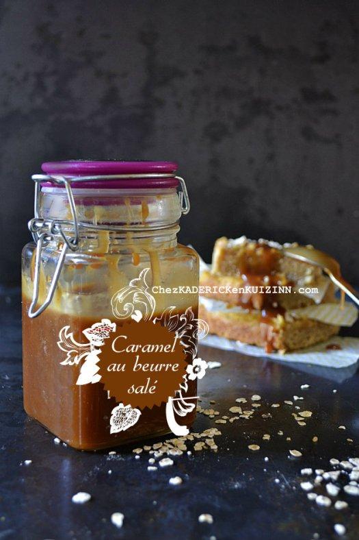 Jour 18 Calendrier de l'avent 2014 chez Kaderick en Kuizinn© caramel au beurre salé fait maison
