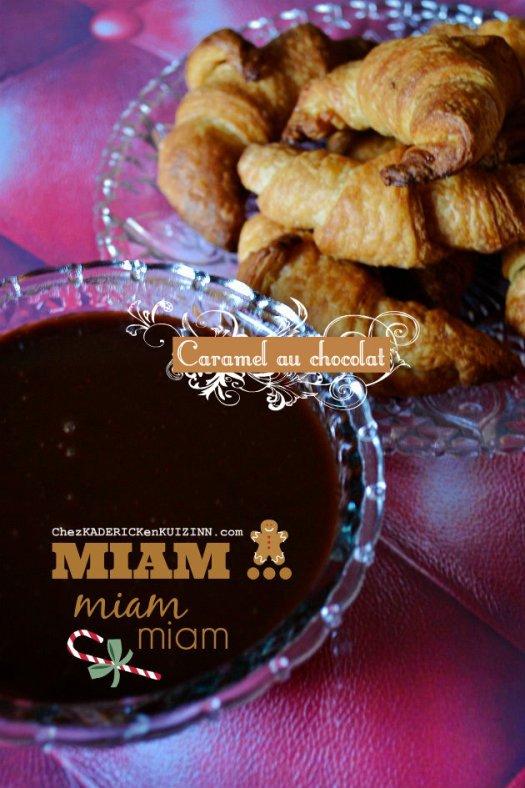 Jour 18 Calendrier de l'avent 2014 chez Kaderick en Kuizinn© caramel au beurre salé au chocolat