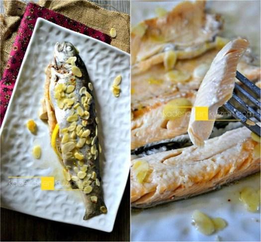 Truites amandes - Papillote et marinade truite des Pyrénées à l'aneth - Kaderick en kuizinn