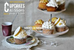 Recette cupcakes aux calissons et glaçage vanille - Kaderick en Kuizinn