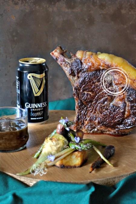 Dégustation cote plancha - Côte boeuf plancha sauce Guinness chez Kaderick en Kuizinn