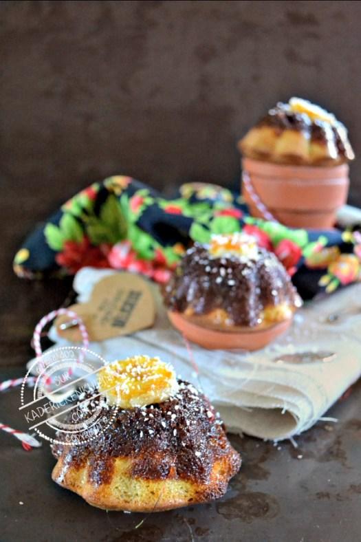 Dégustation muffins banane - Recette muffins tatin banane coco chez Kaderick en Kuizinn