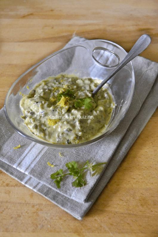Dégustation sauce tartare - Recette allégée sauce tartare ou dips chez Kaderick