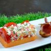 Recette melon - Recette melon feta tomates et jambon cru chez Kaderick en Kuizinn