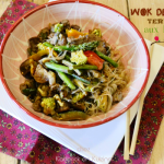 Recette Wok boeuf - Sauté boeuf teryaki légumes chez Kaderick en Kuizinn