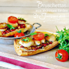 Recette bruschetta ou Crostini condiments St-Jacques plancha chez Kaderick