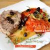 Recette roti - Tomates provençales et roti de porc à l'Omnicuiseur chez Kaderick