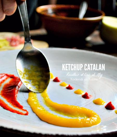 Recette Ketchup - Recette ketchup maison made in Occitanie chez Kaderick en Kuizinn