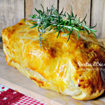 Recette poulet - Poulet fermier farci croute feuilletée chez Kaderick en Kuizinn