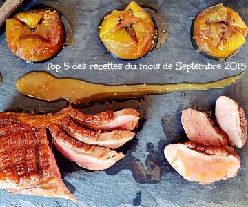 Recette septembre 2015 - Top 5 recettes de septembre 2015 chez Kaderick en Kuizinn