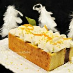 Gâteau de Fêtes vanille tonka chocolat chantilly orange