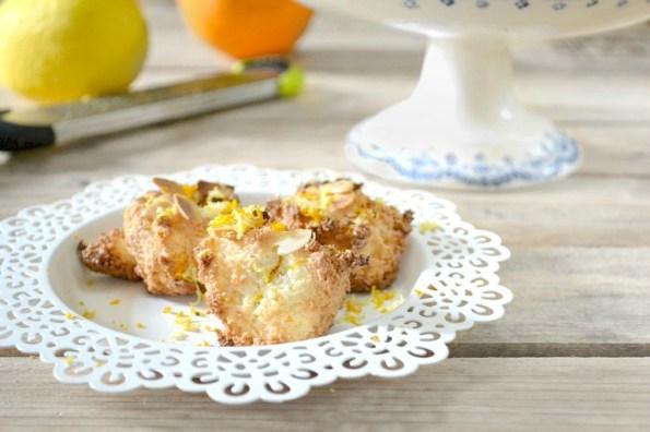 Rochers amandes zestes oranges citrons