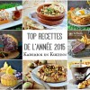 Le Top recettes année 2015 Kaderick en Kuizinn