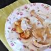 Cuisse de poulet jus au pastis cuite en papillote