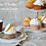Top 10 recettes mois janvier 2016